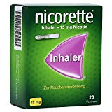 Nikotin Inhaler mit 15mg Dosierung